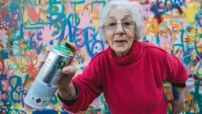 Hablamos con la panda de abuelos grafiteros portugueses