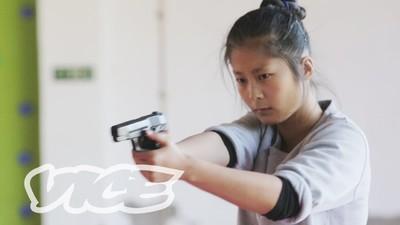 As Mulheres Seguranças de Elite da China