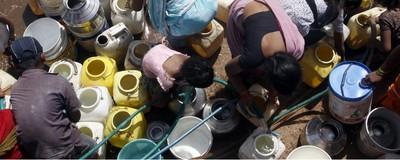 O mundo está a ficar sem água