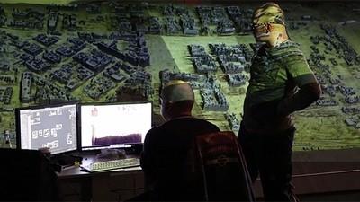 Russische Projection Mapper erwecken die Schlacht um Stalingrad zu neuem Leben