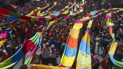 Miles de vascos defienden el derecho de autodeterminación a pocos meses de las elecciones