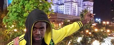 Jamajczyk w Warszawie