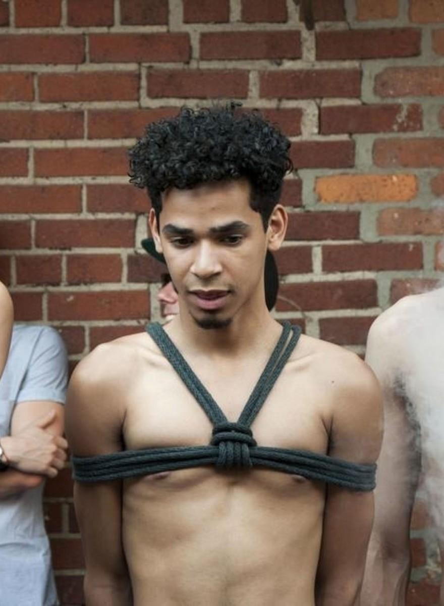 Peitschen, Ketten und Chaps: Szenen vom Fetisch-Festival Folsom Street East