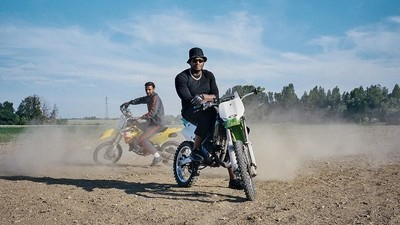 Photographing Paris' Dirty Riderz Motorcross Crew