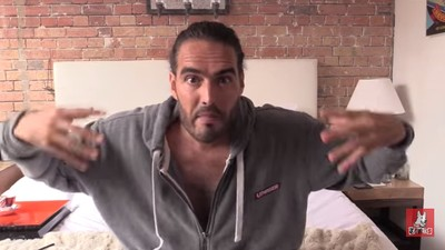 Russell Brand's Plan to Love-Bomb the Police Is Fatuous Bullshit