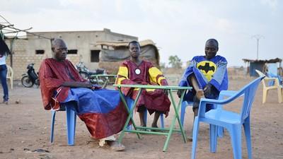 Les super-héros de Ouagadougou