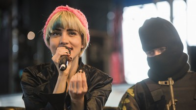 What We Learned from Pussy Riot's Glastonbury Talks
