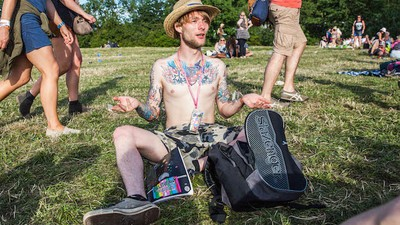 We Asked Deep Philosophical Questions to People at Glastonbury's Stone Circle