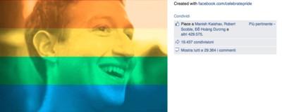 La foto profilo arcobaleno non cambierà le cose in Italia
