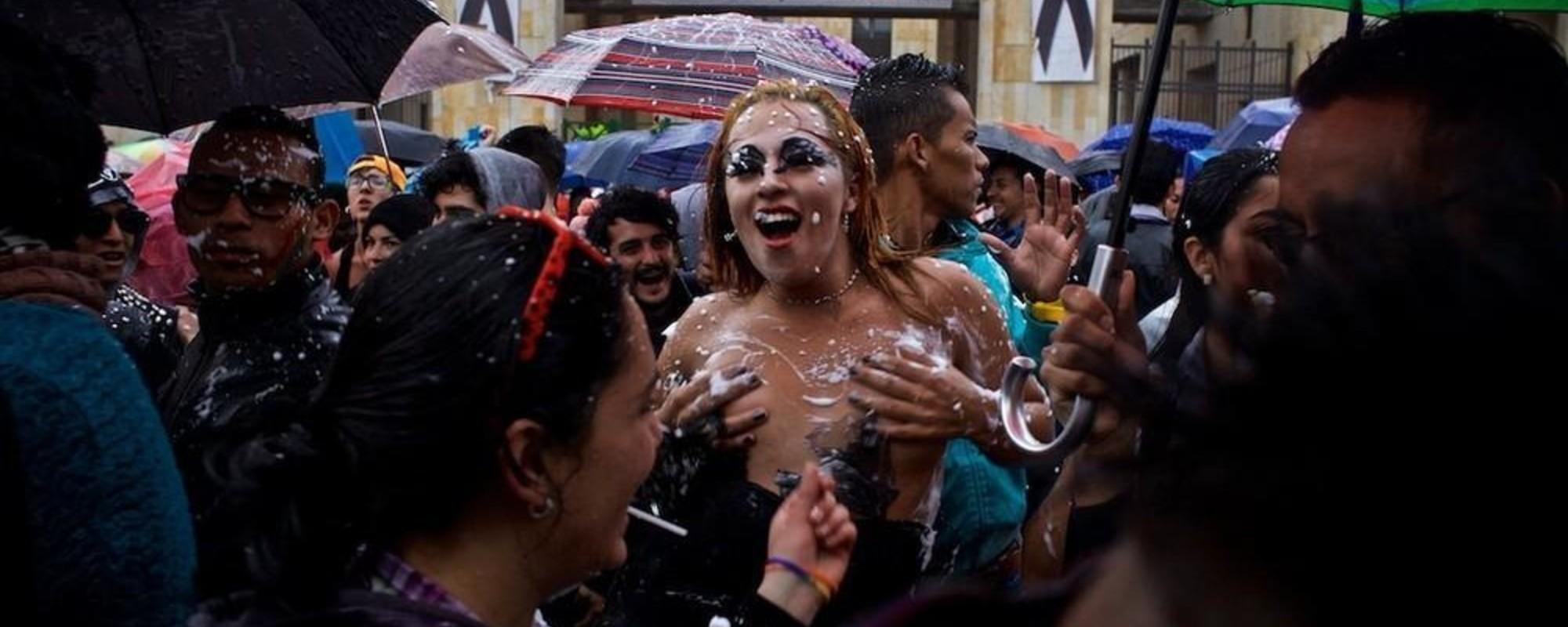 Fotos de la marcha del orgullo LGBT en Bogotá
