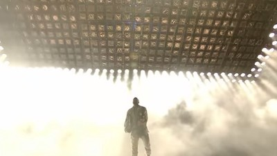 Watch Kanye West Cover Queen's 'Bohemian Rhapsody' at Glastonbury