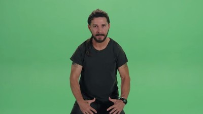 Watch Shia LaBeouf Freestyle Rap Because He Is a True Artist