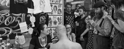 Die ersten Tattoos von Zürcher Tätowierern