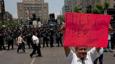La batalla por Uber en la Ciudad de México