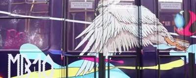 Las calles del DF se llenan de color con arte en metrobus