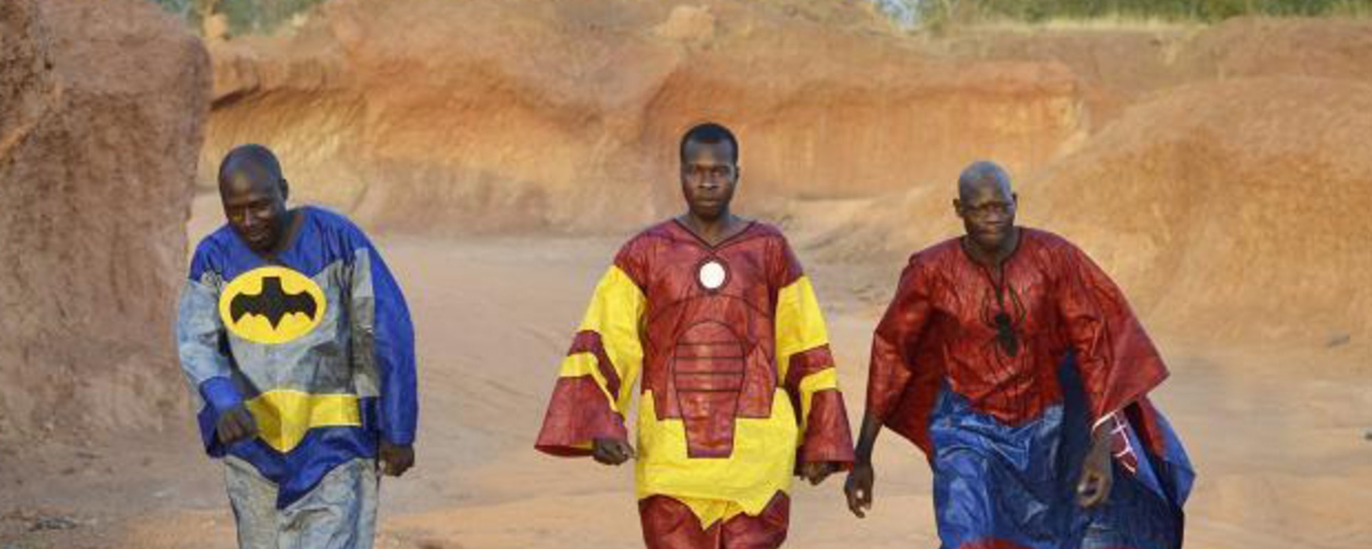 The Superheroes of Ouagadougou