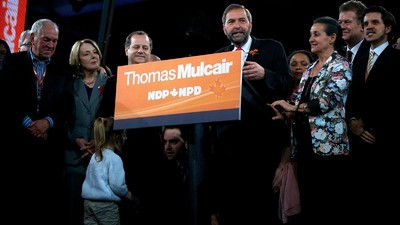 Thomas Mulcair Accused of Once Wanting to Be a Conservative After NDP Surges in Polls