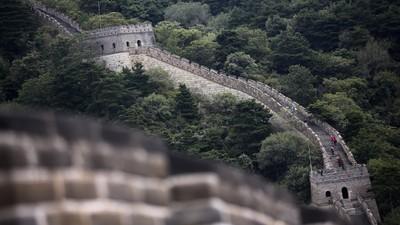 Aproape o treime din Marele Zid Chinezesc s-a făcut praf