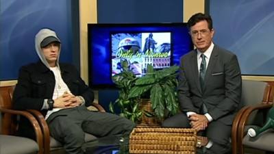 Stephen Colbert Took Over a Michigan Public Access TV Show to Interview Eminem