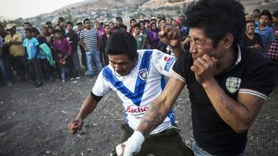 Foto's van het Mexicaanse dorp waar de inwoners vechten voor regen