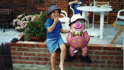 How Mr. Blobby Helped Me Get Over the Premature Death of My Father