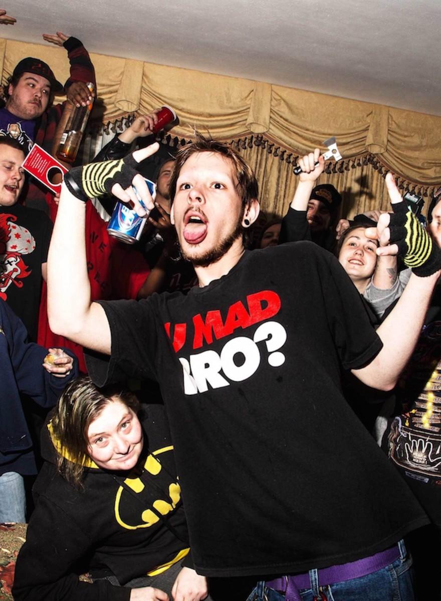 Rasierklingen, Hasch und Hummer: Eine Juggalo-Motel-Party
