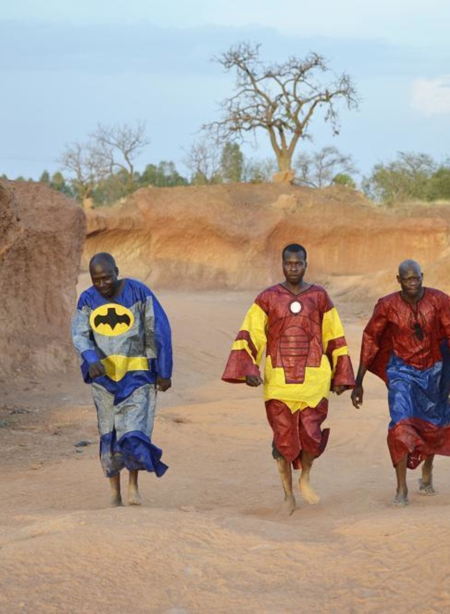 Los superhéroes de Burkina Faso