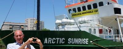 Passei 4 dias num barco da Greenpeace