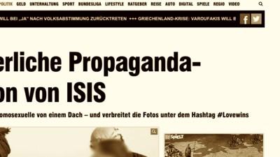Wer ist zynischer: Der Islamische Staat oder die Bild?