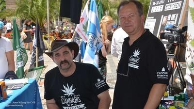 Dieser Typ von der Bayernpartei möchte Gras legalisieren