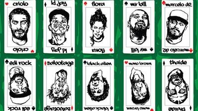 Álbum de Rappers Para Colorir #1: Don L, Síntese e Flow MC