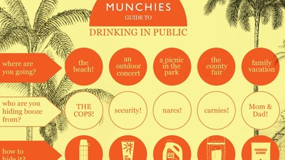 The MUNCHIES Guide to Drinking in Public This Summer