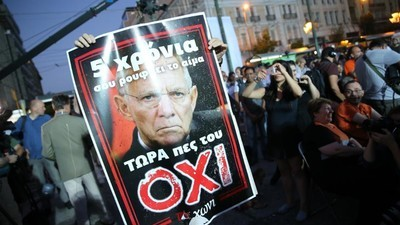 Financial Chaos Looms After Greeks Reject Bailout With Resounding 'Oxi' Vote