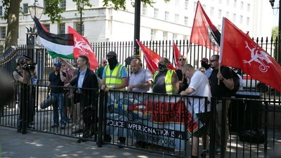 English Nazis Held a Jew-Hating Demonstration in London on Saturday