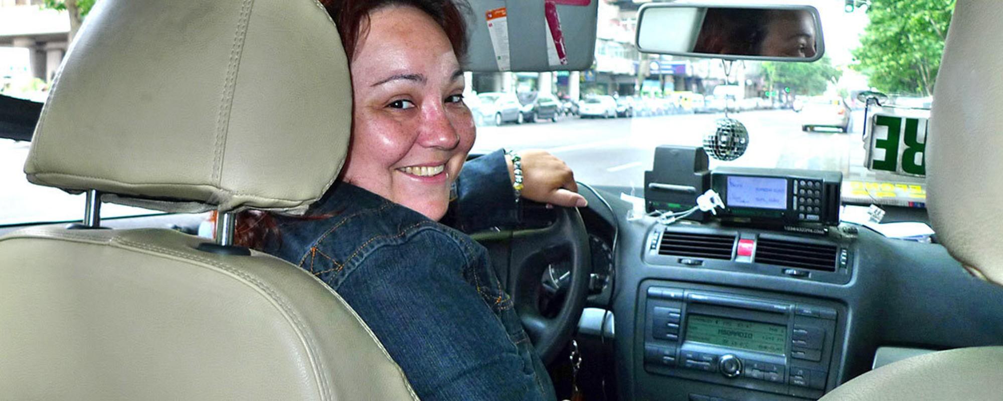 Retratos de los taxistas de Madrid