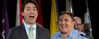 While Mulcair, Trudeau Make Their Pitches to Assembly of First Nations, Conservatives Stay Home