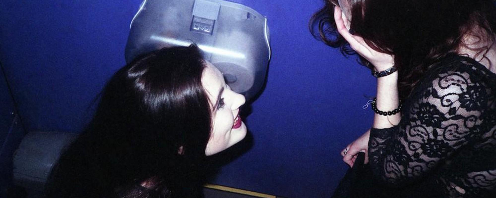 Lubię w klubie: zdjęcia z damskich toalet londyńskich klubów