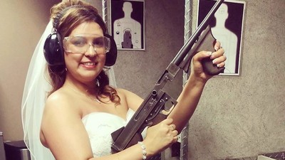Shotgun Wedding: What It's Like to Get Married at a Gun Range