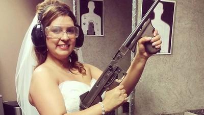 Shotgun Wedding: What It's Like to Get Married at a Gun Range