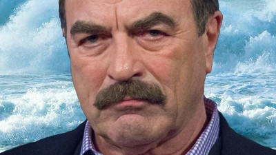 Tom Selleck Has Allegedly Been Stealing an Assload of Water During the California Drought