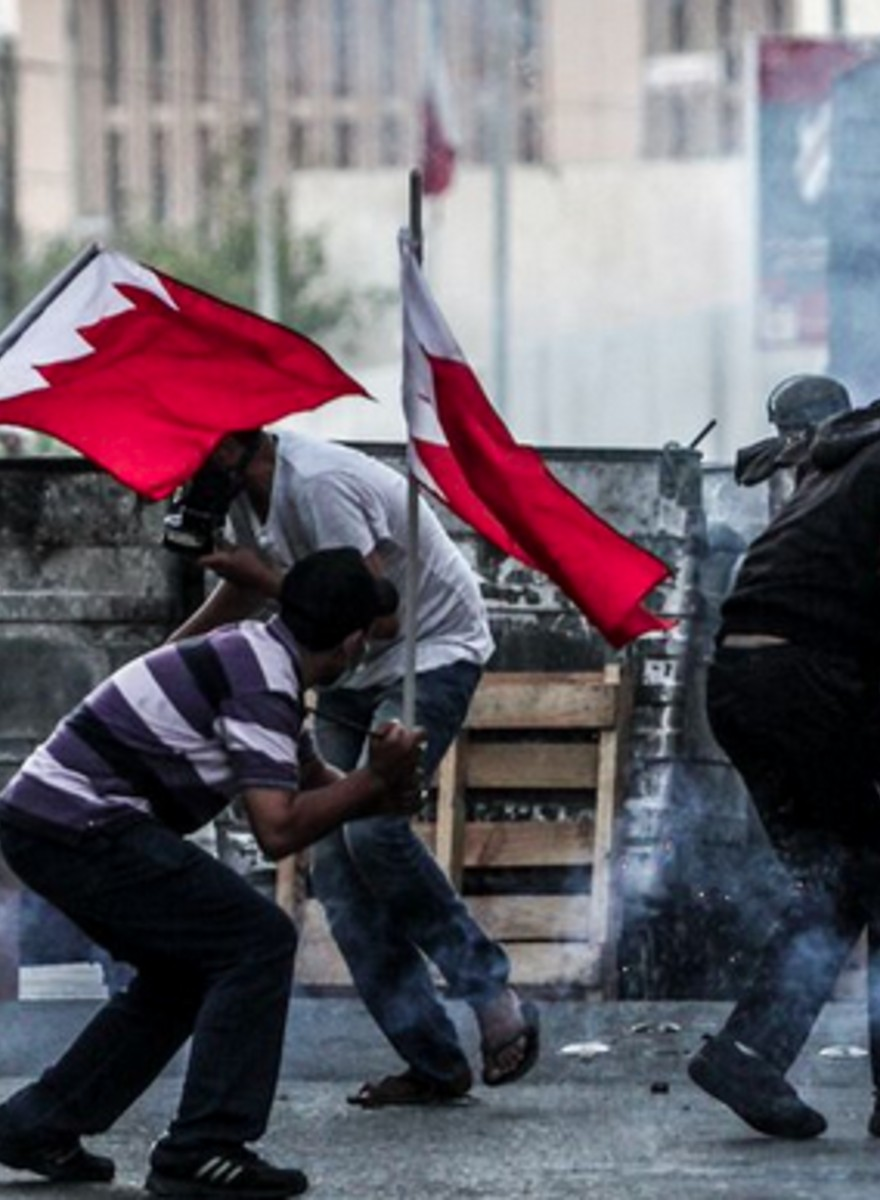 The Bahraini Uprising in Photos: Road Blocks, Tear Gas, and No Right to Protest