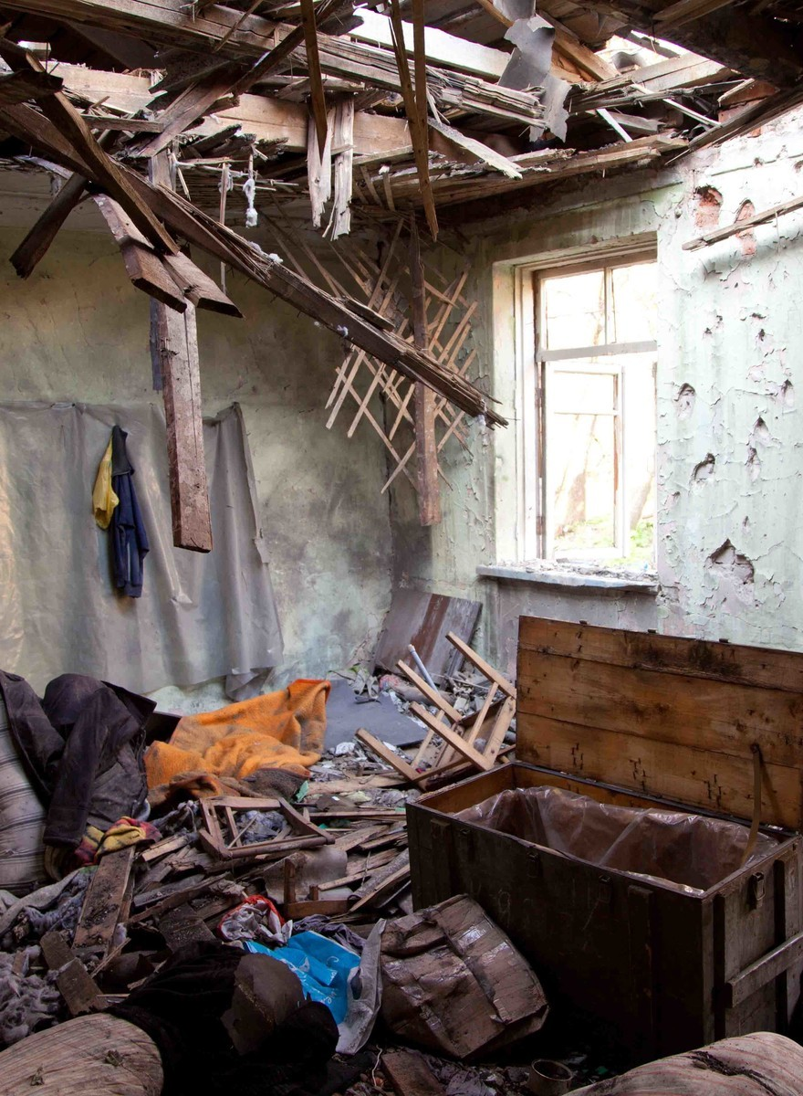 Inside a Bombed-Out Ukrainian Children's Camp