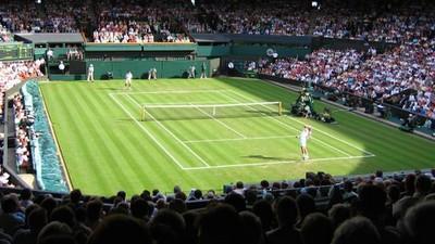 Observations of a Football Fan at Wimbledon
