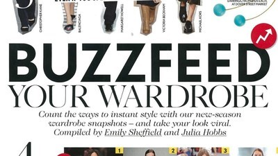 British 'Vogue' Wants You to 'Buzzfeed Your Wardrobe'—But What Exactly Does That Mean?