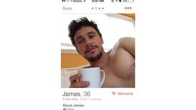 Ya no volverás a recibir mensajes de un falso James Franco en Tinder