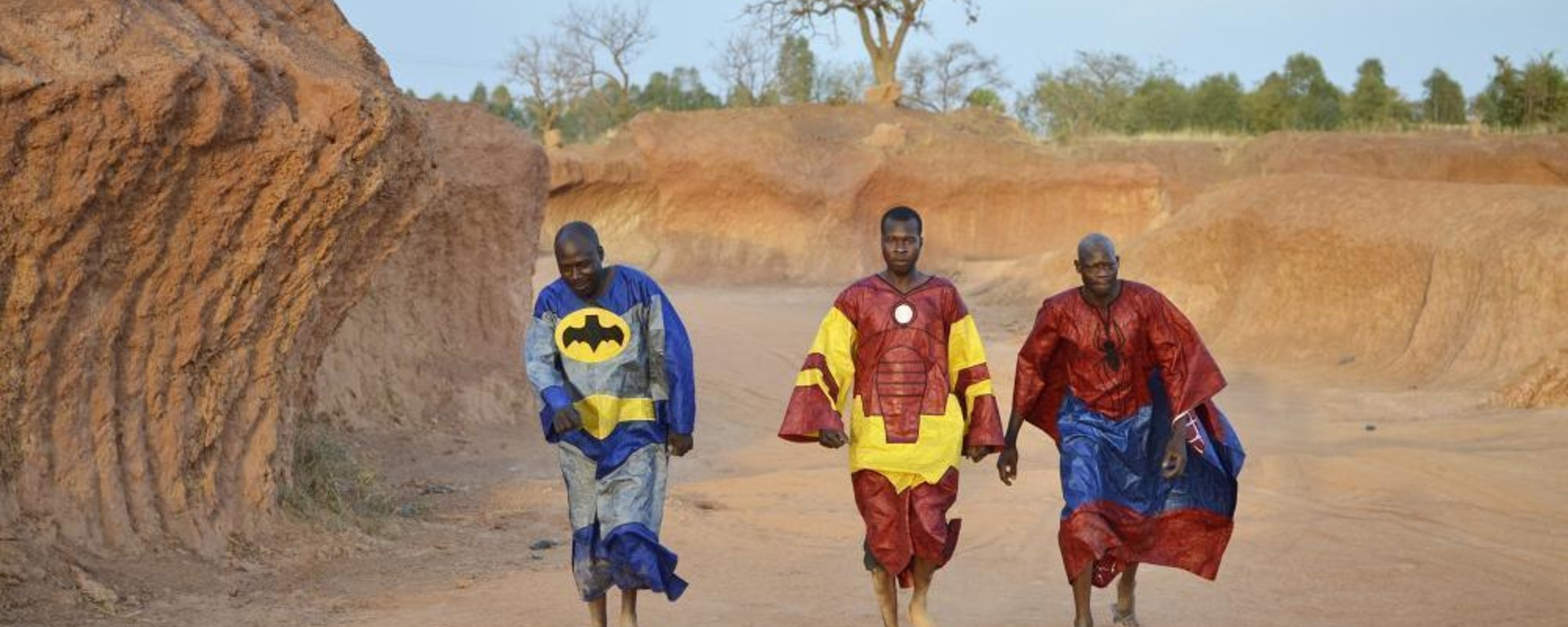 Os super-heróis de Burkina Faso