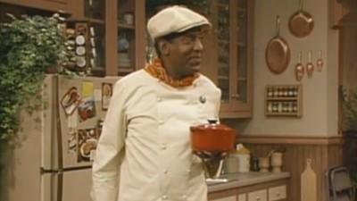 Es gibt eine Folge der 'Bill Cosby Show', in der Cosby Frauen mit Barbecue-Soße gefügig macht