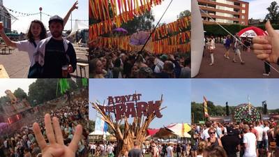 We bezochten op één dag zoveel mogelijk festivals
