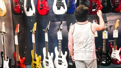 This Guy Made an Album Recorded Entirely at Guitar Center, and It Actually Kind of Rules?