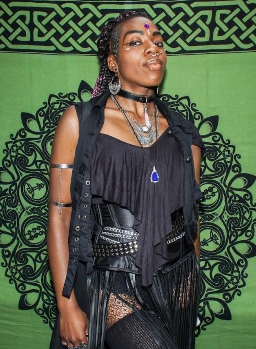 Fotos vom jährlichen Hexenfest in New York